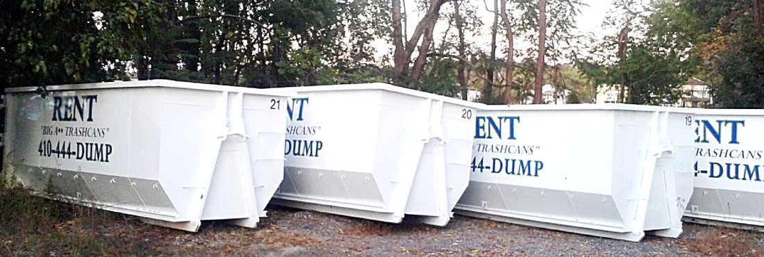 ABD Dumpster Service Dumpster Rental Lcoations in Maryland
